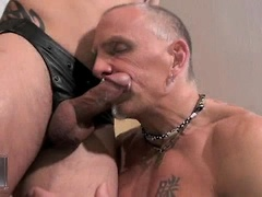 Sage Daniels And Tom Trojan In Gay Bareback Clip