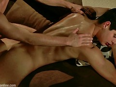 BELAMI NIGHT SCENE: Billy Montague & Rocco Alfieri