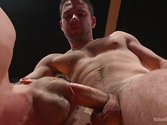 Lance Hart vs. Dylan Knight: Loser Gets a Wicked Wedgie and a Rough Fuck